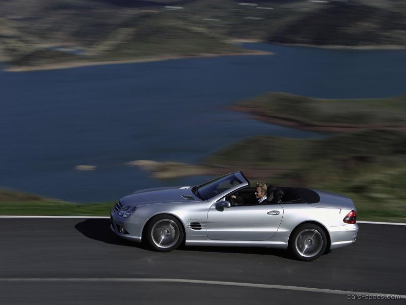 2006 mercedes benz sl class sl55 amg specifications for Mercedes benz 2006 models