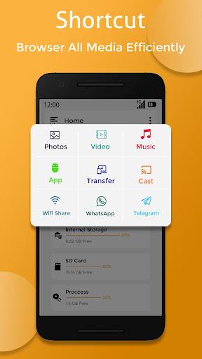 Screenshots des Dateimanagers 2