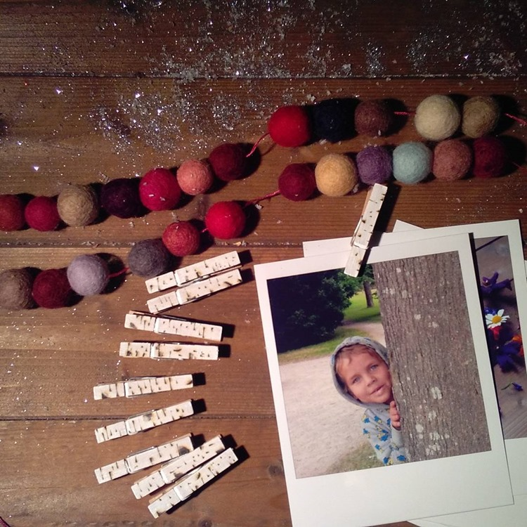 pom poms and polaroids