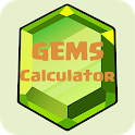 Gems Calculator for CoC 2018 icon