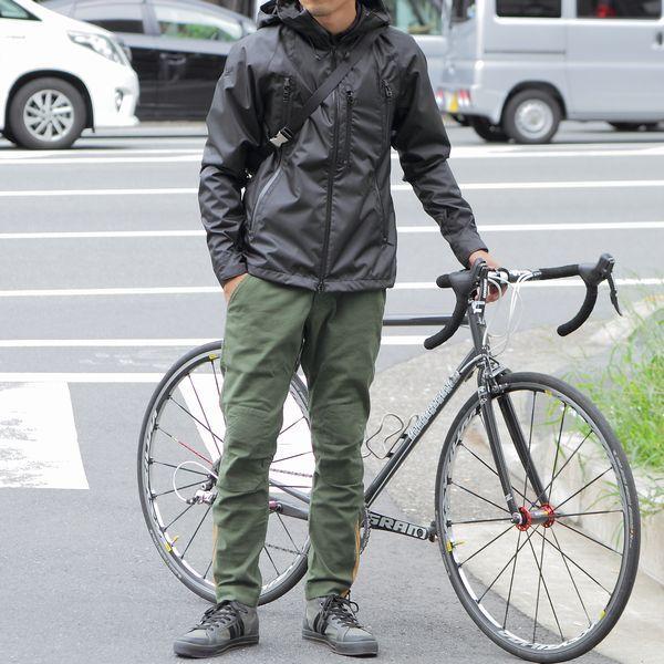 自転車に乗るための服装 ~ メンズファッション オブ サイクルライフ