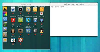 yoimnotpro in Arch Linux