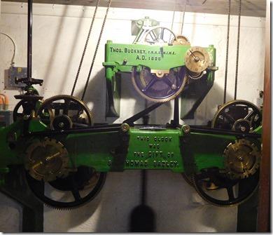 12 clock mechanissm