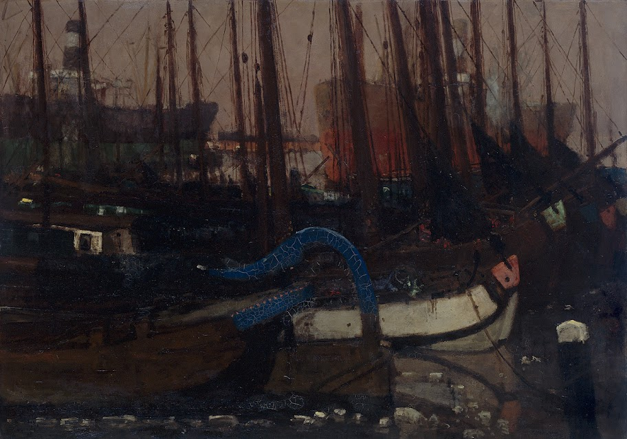 George Hendrik Breitner - Ships in the Ice