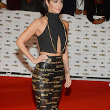 WWW.ENTSIMAGES.COM -    Tulisa Contostavlos     arriving at        MOBO Awards 2014 at SSE Arena Wembley October 22nd 2014Annual awards show recognising the best in urban music which is supported by HTC.                                                Photo Mobis Photos/OIC 0203 174 1069