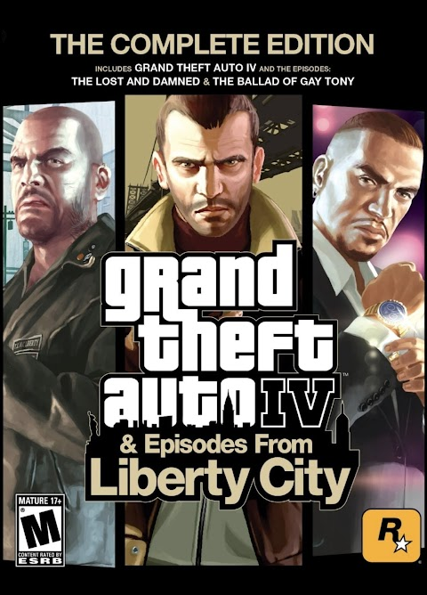 โหลดเกมส์ (PC) Grand Theft Auto IV: The Complete Edition