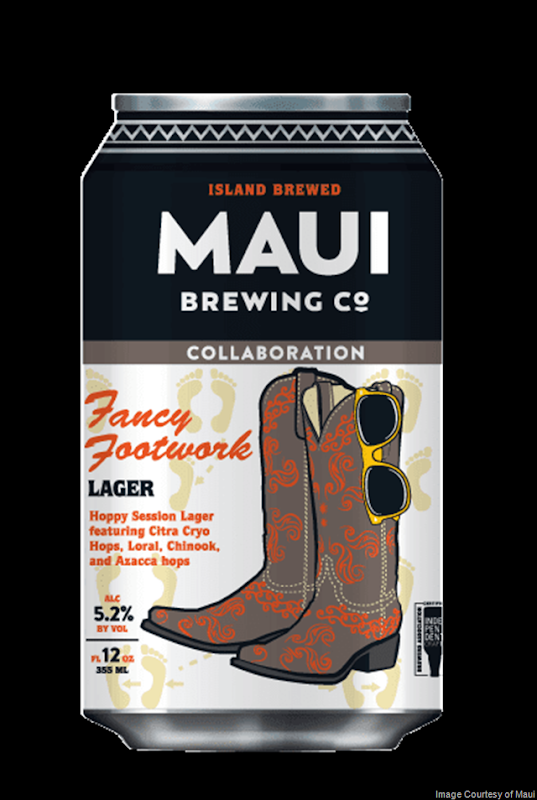 Maui Brewing & Austin Beerworks Collaborate On Fancy Footwork Lager