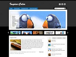 Inspire-Color WordPress Theme