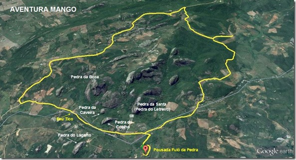 Mapa trilha