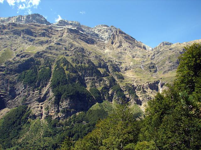 senderismo - Valle de Pineta - Cascada Cinca - Cascada de La Larri - Llanos de La Larri