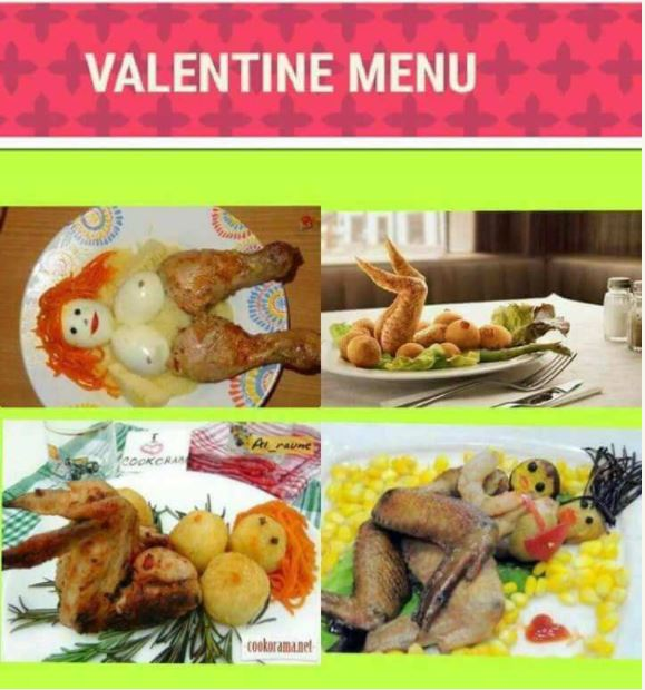 Check Out The Romantic Valentine Themed Foods That Got People Talking (Photos)