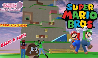 ID Rintangan Super Mario di Sakura School Simulator Cek Disini Aja