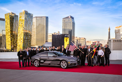 Audi A7 Piloted Driving Concept Drives Silicon Valley to Las Vegas Drive