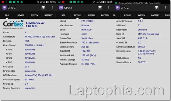 CPU-Z Hisense F20