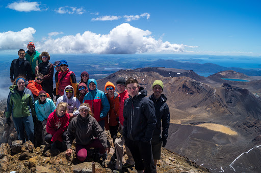 Tongariro National Park: Summit of Mt. Ngauruhoe (Mt. Doom)