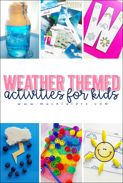 Weather Themed Activities for Preschool: A Preschool Thematic Unit