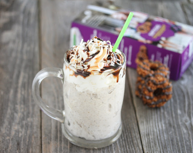 Girl Scout Cookie Samoa Shake Recipe — Dishmaps