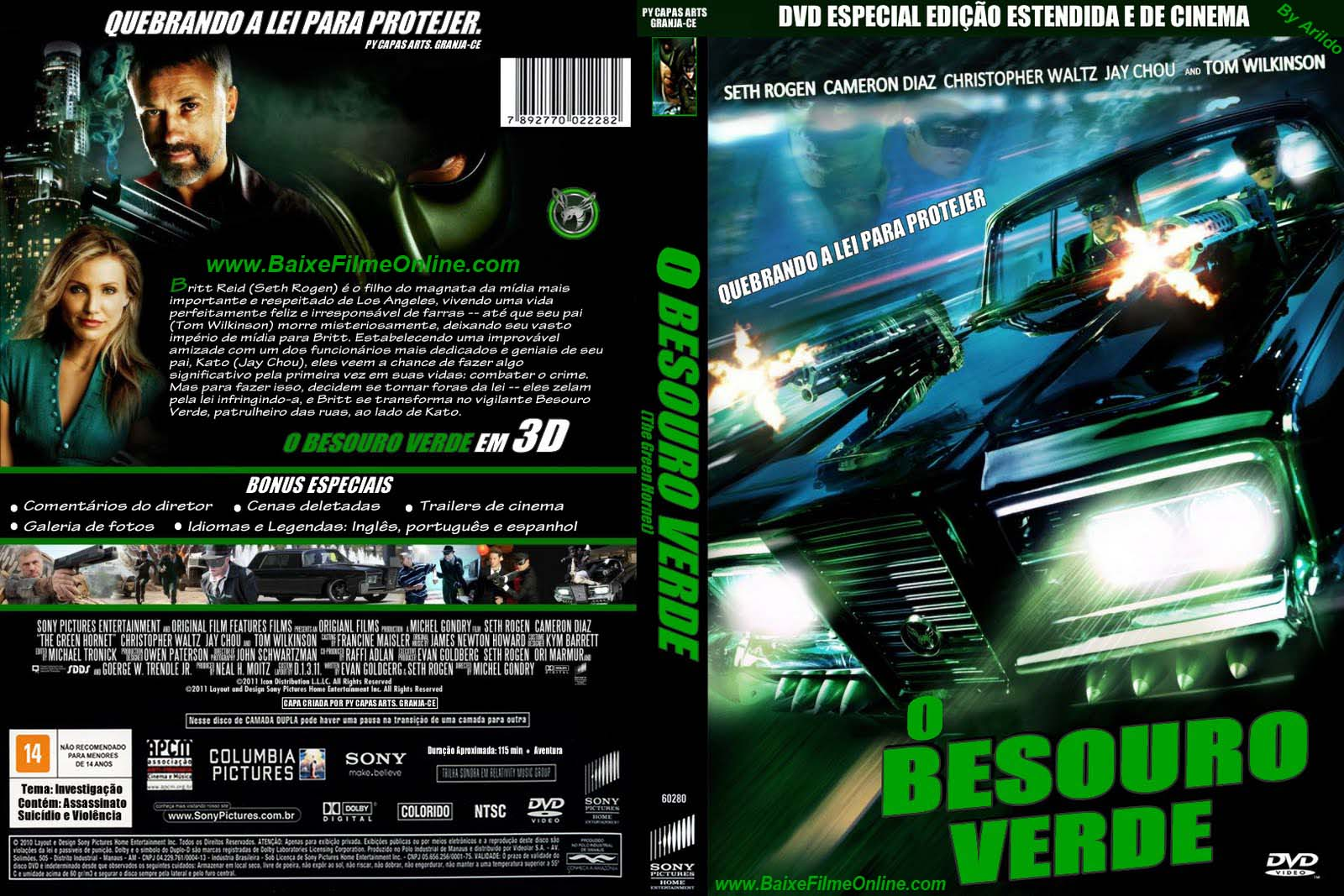 dvd besouro verde