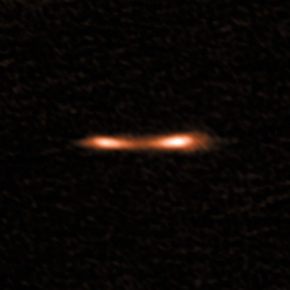 ALMA view of the Cosmic Eyelash