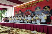Kabid Humas Polda Metro Menjelaskan Kronologi Pengungkapan Ganja 1,3 Ton Lintas Provinsi