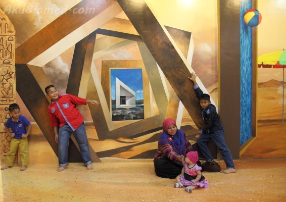 seni 3d di Magic Art Museum