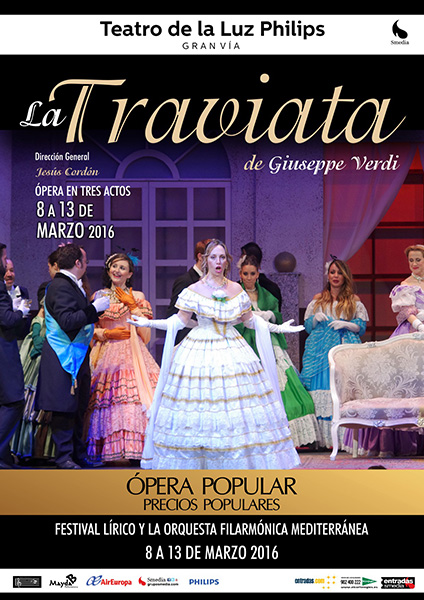 Vuelve la Ópera a la Gran Vía con Rigoletto y La Traviata