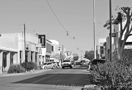 El Centro Downtown2 B&W