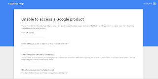 Can Not Access My Account - Google Product Forums