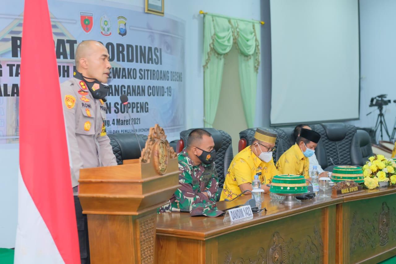 Mari Sukseskan Program Balla Ewako Sitiroang Deceng Dalam Penanganan Covid19 di Kabupaten Soppeng