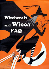 Cover of Anonymous's Book Witchcraft and Wicca FAQ