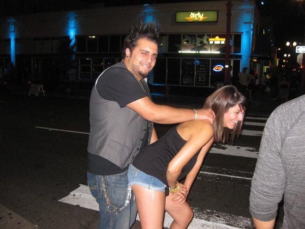 Brian Caniglia Joke With Girl, Brian Caniglia