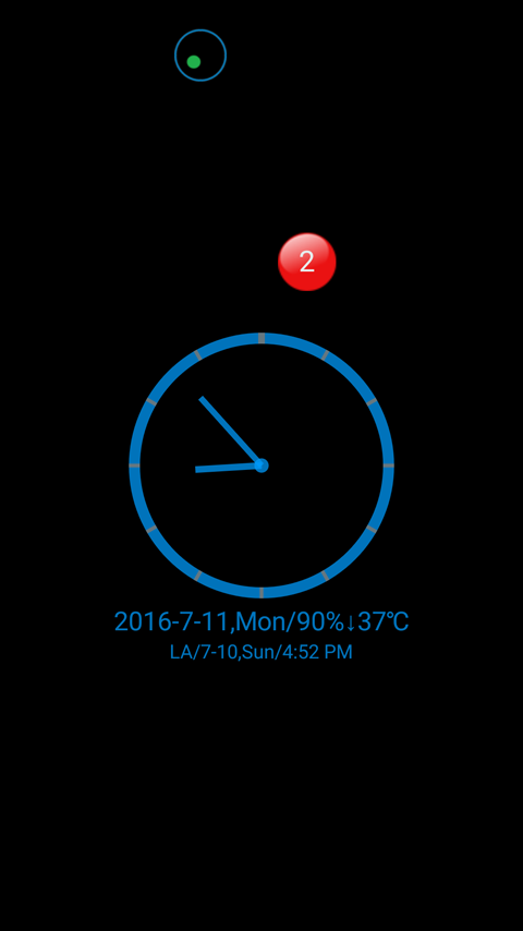 ClockView - Always On Clock- screenshot