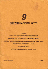 Cover of Marcus Bottomley's Book Nine Proven Magical Rites