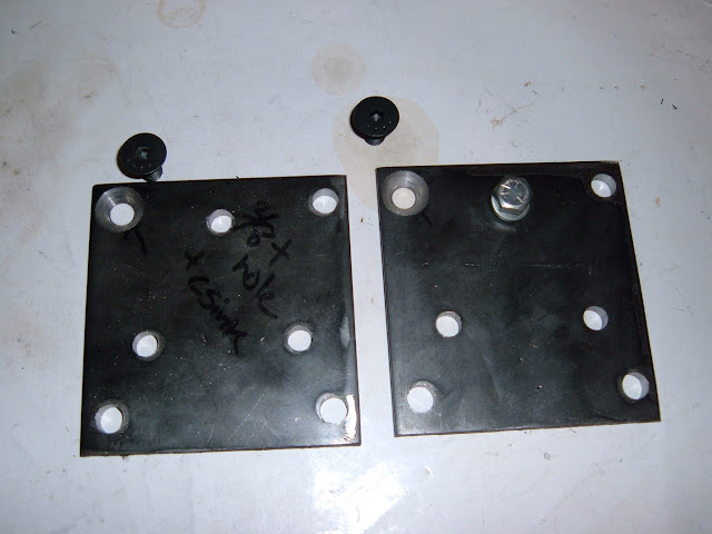 Engine mount adapters for engine swaps. Look in Engine Mount section.