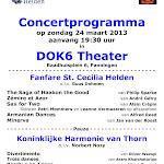 2013-03-24 Concert met KHT in DOK6