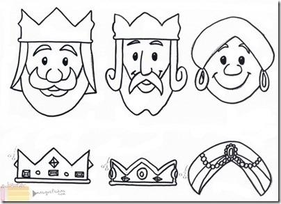 reyes magos jugarycolorear  (6)
