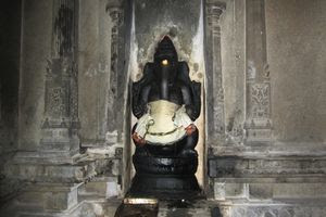 Mayiladuthurai Temple Lord Ganesha Idol In Kostham