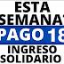 ¿Cómo son las fechas de pago del Ingreso Solidario en septiembre?