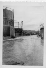 Photo: Flooding at the Torrington Gas Company. Photo taken by John William McElhone, submitted by Jack Sheedy.