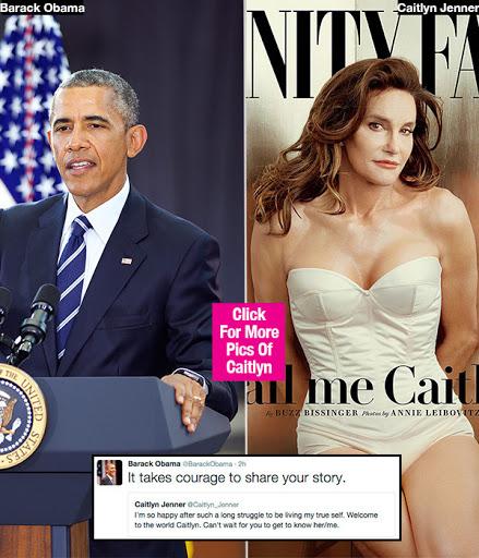 Obama congratulates Bruce/Caitlin Jenner