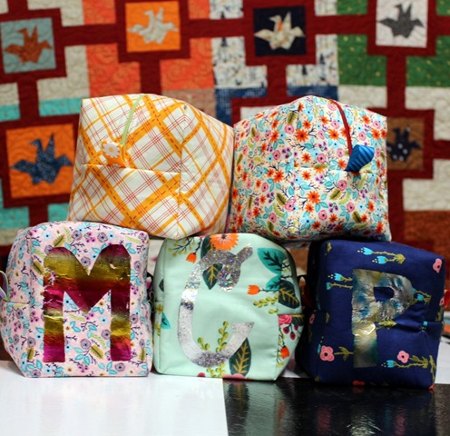 Chunky Wee Zippy Pouches by Kim Lapacek