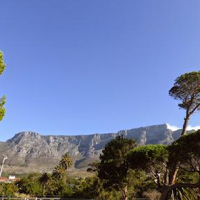 Vanuit het hotel zicht op Table Mountain
