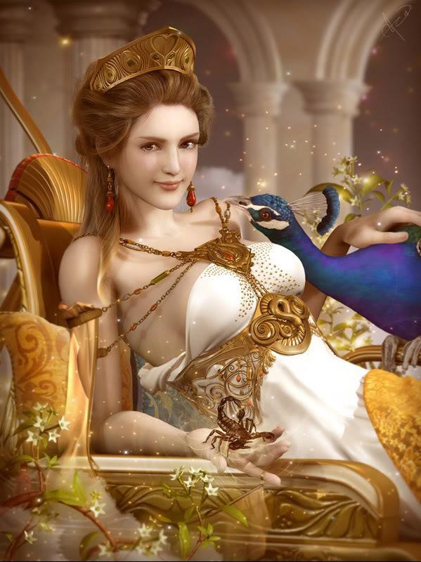 Goddess Hera, Gods And Goddesses 1