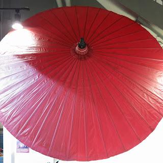 Giant Paper Umbrella