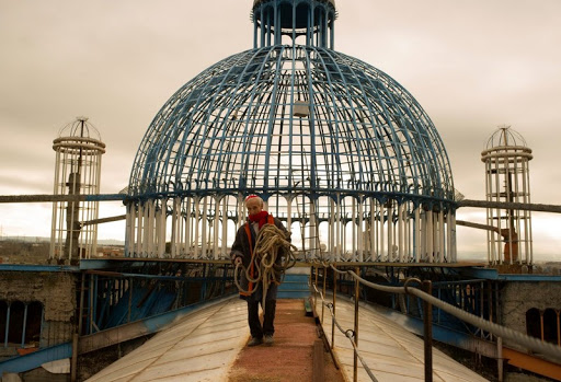 An 88-Year-Old Man Has Spent 50 Years Building This Cathedral Out Of Recycled Materials