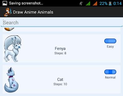 App How To Draw Anime Animals Apk For Windows Phone