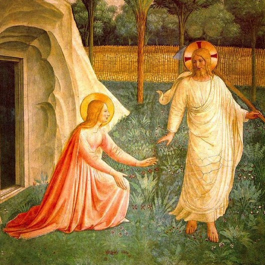 Noli me tangere fresco by Fra Angelico