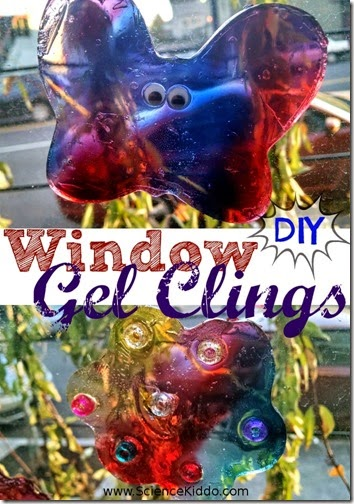 make your own window clings kids activiites