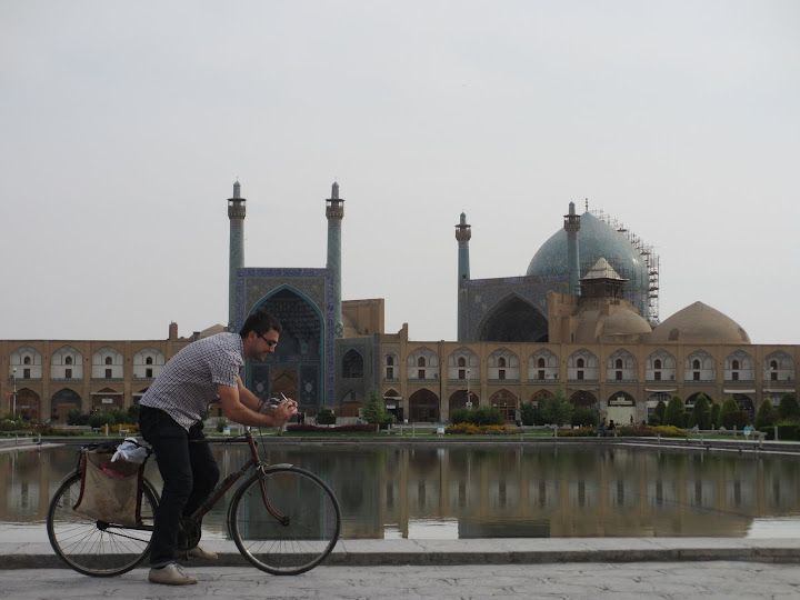 Isfahan on bike