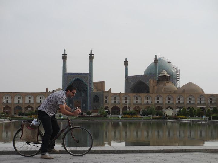 Isfahan on bike